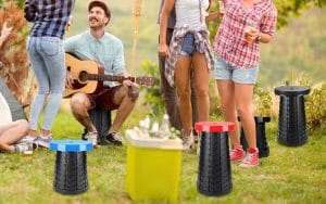 Retractable Folding Stools