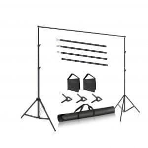 Neewer Photo Studio 10ft Wide Cross Backdrop Stand