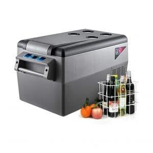 VBENLEM 35L Portable Car Refrigerator Compact Sleek Design