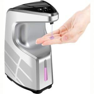 Hand Sanitizer Dispenser, Touchless Soap Dispenser, 450ml Automatic Soap Dispenser, Christmas Liquid Soap Dispenser
