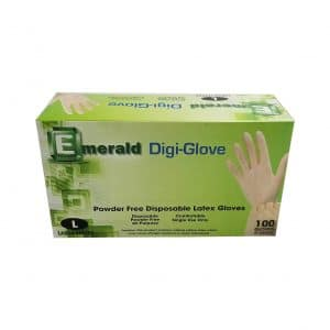 National Paper Trading Latex Disposable Gloves