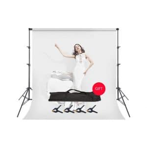BEIYANG 7.5FT X 10FT Adjustable Backdrop Stand