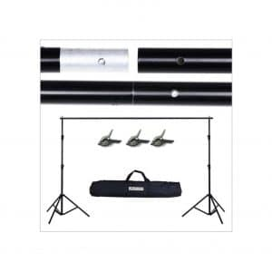 MEHOFOND 10FT Adjustable Photography Backdrop Stand