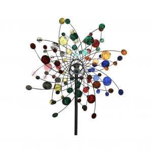 MJ Spinner Designs Style Kinetic Wind Sculpture