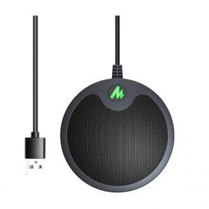 MAONO USB Conference Metal Boundary Microphone