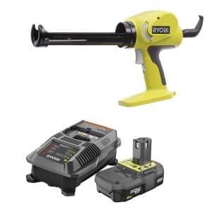 RYOBI 18-Volt Caulk and Adhesive Gun