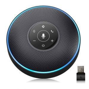 EMeet Bluetooth Speakerphone 5-8 People Conference Microphone