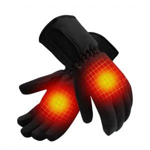 QILOVE rechargeable battery Heated Gloves