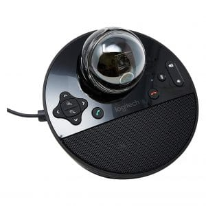 Logitech HD 1080P Built-in Speakerphone Conference Microphone
