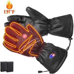 Refial Men Women Heated Gloves