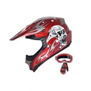 X4 Helmet Adult ATV Off-Road MX Motorcross Mountain Helmet