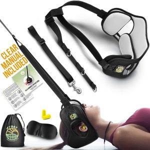MY DAY Health and Care Neck Head Hammock Portable Cervical Traction