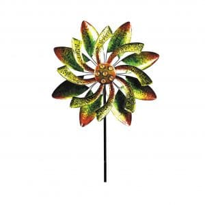 Alpine Corporation Gems Kinetic Spinner 65 Inches Tall