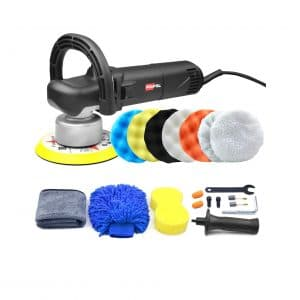 POLIWELL 6 Inches Dual Action Random Buffer Polisher