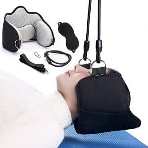 LIHIRONER Neck Head Hammock Portable Traction Device