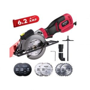 Meterk 6.2A Compact Electric Cordless Circular Saw
