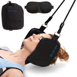 SACSTAR Neck Head Hammock Portable Traction Device