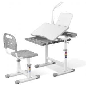 LAZY BUDDY Kids Desk and Chair Set