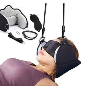MUDMAIDS Portable Neck Head Hammock Cervical Traction Device