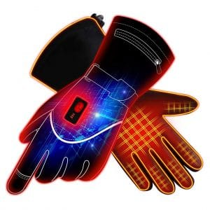 GLOBAL VASION Insoles Rechargeable Heated Gloves