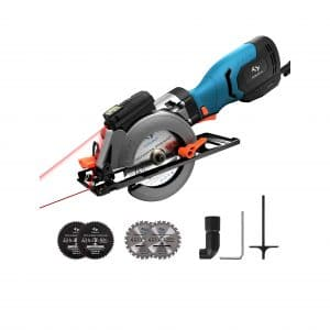 Tilswall 6.2Amp 3500 RPM Mini Circular Saw
