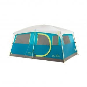 Coleman 8 Person Camping Tent with Built-in Closet