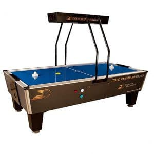 Gold Standard Games Air Hockey Table