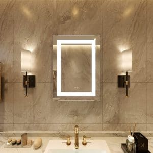 Petus PetusHouse Lighted Bathroom Wall Mounted Vanity Mirror