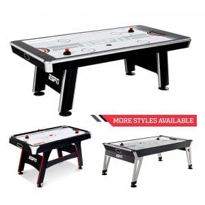 ESPN Sports Air Hockey Table - Available in Different Styles