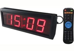 Ledgital Countdown Clock for Conference Countdown Timing Minutes Seconds Countdown Timer 12x4in. w Remote Control