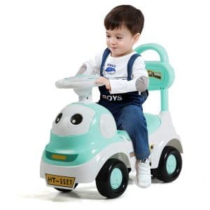 Costzon 3 In 1 Push and Ride Racer Car for Kids
