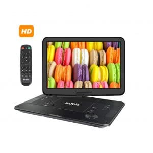 SUNPIN 6HRS Battery 17.9 Inches Large HD Swivel Screen