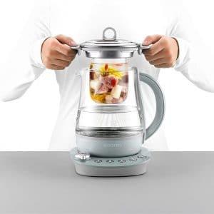 Buydeem Glass Inner Stew Pot Soup Maker