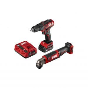 SKIL 2 Tool Combo Tool 12 Brushless ½ Inches Cordless Drill