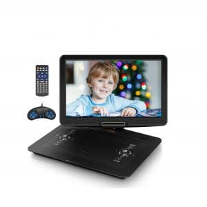 Qbmg 17.9 Inches Portable Blu-Ray Player