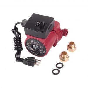 EXTRAUP ¾ Inches NPT 3-Speed Cast Iron Recirculating Hot Water Pump