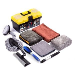 Mofeez 9 Pieces Car Cleaning Tool Kit