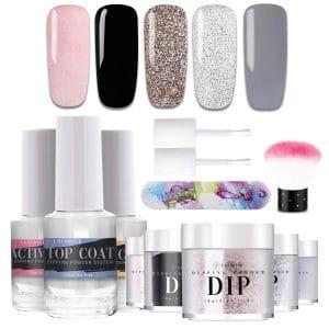 Latorice Dipping Powder 5 Colors Nail Starter Kit