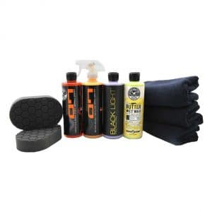 Chemical Guys Black Car Care Kit 9 Pieces