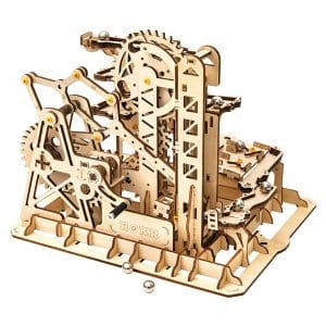 Rowood Tower Coaster Wooden Marble Run