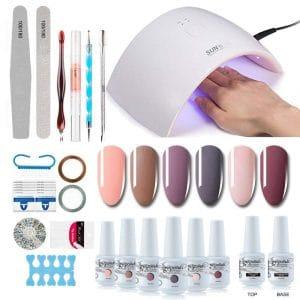 Vishine Gel Nail Quality Professional Nail Art Set Kit