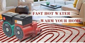 Hot Water Recirculating Pumps