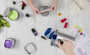 image feature Candle Making Kits