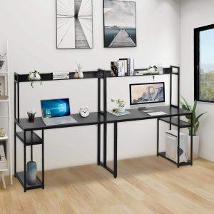 Colin Double Workstation Desk 2 Person Computer Desk