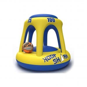 Fun Knuckles Hoop Shark Floating Pool Basketball Hoop