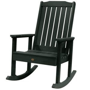 Highwood Wooden Rocking Chair with Natural Finish