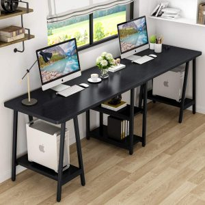 Tribesigns 94.5 Inches Computer Desk Two Person Desk