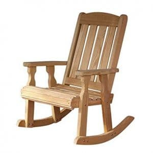 Amish Casual Heavy Duty Rocking Chair