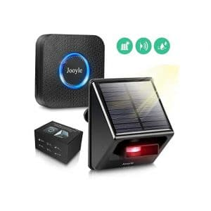 Jooyle Solar Driveway Alarm System IP55 Weatherproof 58 Chimes