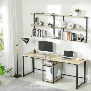 Sedeta 78.7 Inches 2 Person Double Computer Desk